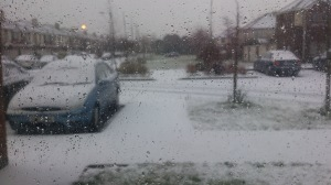 View from my window on Tuesday